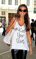 Michelle Keegan, BBC, London UK, 03 July 2014, Photo by Mike Webster
