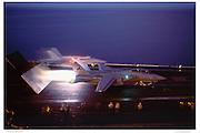 F-14 on catapult