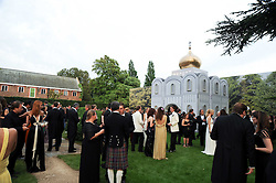 at the Raisa Gorbachev Foundation Party held at Stud House, Hampton Court Palace on 5th June 2010.  The night is in aid of the Raisa Gorbachev Foundation, an international fund fighting child cancer.
