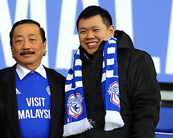 Cardiff City owner Vincent Tan - Mandatory by-line: Nizaam Jones/JMP - 29/12/2017 -  FOOTBALL - Cardiff City Stadium - Cardiff, Wales -  Cardiff City v Preston North End - Sky Bet Championship