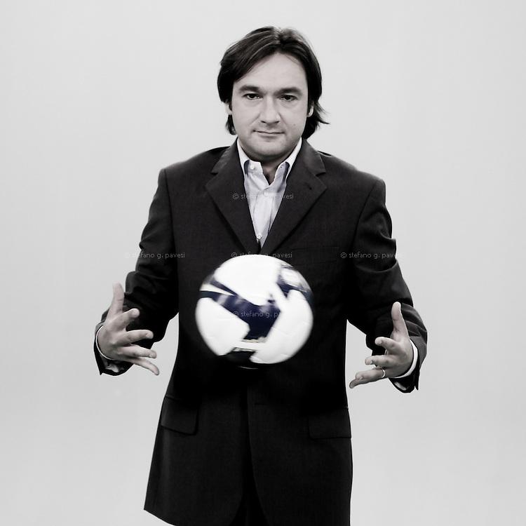 Fabio Caressa giornalista, commentatore e conduttore televisivo ,journalist, italian television commentator