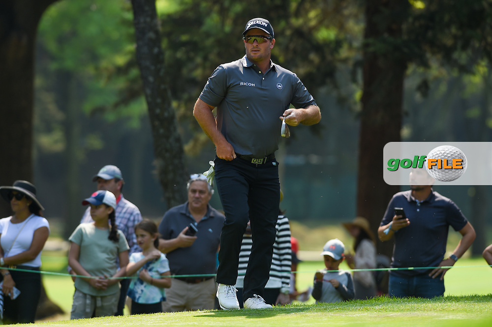 Ryan Fox (NZL) looks over his chip on to 3 during Rd4 of the World Golf Championships, Mexico, Club De Golf Chapultepec, Mexico City, Mexico. 2/23/2020.<br /> Picture: Golffile | Ken Murray<br /> <br /> <br /> All photo usage must carry mandatory copyright credit (© Golffile | Ken Murray)