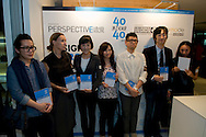 Laureates of the Hong Kong Perspective magazine awards for the Art section.