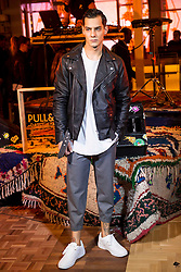 03.12.2015, Madrid, ESP, opening party, World big store of PULL & BEAR, im Bild Joel Bosqued // during the opening party of the World big store of PULL & BEAR in Madrid, Spain on 2015/12/03. EXPA Pictures © 2015, PhotoCredit: EXPA/ Alterphotos/ BorjaB.hojas<br /> <br /> *****ATTENTION - OUT of ESP, SUI*****
