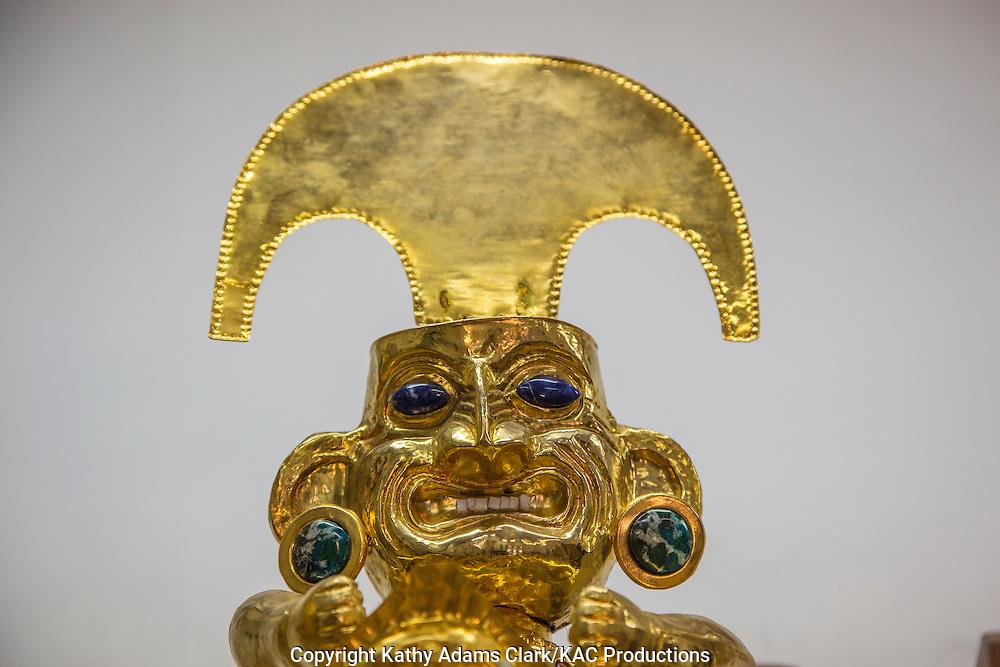 Inca statue reproductions.