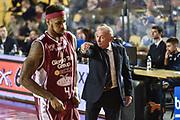 DESCRIZIONE : Campionato 2014/15 Virtus Acea Roma - Giorgio Tesi Group Pistoia<br /> GIOCATORE : Luca Dalmonte<br /> CATEGORIA : Allenatore Coach Schema<br /> SQUADRA : Virtus Acea Roma<br /> EVENTO : LegaBasket Serie A Beko 2014/2015<br /> GARA : Dinamo Banco di Sardegna Sassari - Giorgio Tesi Group Pistoia<br /> DATA : 22/03/2015<br /> SPORT : Pallacanestro <br /> AUTORE : Agenzia Ciamillo-Castoria/GiulioCiamillo<br /> Predefinita :