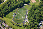 AstroTurf field aerial Image of C Milton Wright High School in Maryland  by Jeffrey Sauers of Commercial Photographics, Architectural Photo Artistry in Washington DC, Virginia to Florida and PA to New England