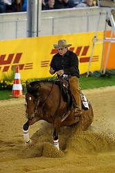 Van Den Berg Olivier, (NED), Footworks X Factor<br /> Reining individual<br /> European Championships - Aachen 2015<br /> © Hippo Foto - Dirk Caremans<br /> 16/08/15