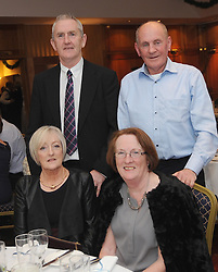 Pictured at the Westport GAA Club dinner dance at Hotel Westport were Mel and Mary Kenny with Chris Breda Grady.<br />