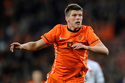 09-02-2011 VOETBAL: NEDERLAND - OOSTENRIJK: EINDHOVEN<br /> Netherlands in a friendly match with Austria won 3-1 / Klaas-Jan Huntelaar NED<br /> ©2011-WWW.FOTOHOOGENDOORN.NL