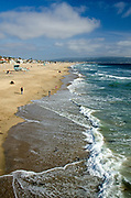 Manhattan Beach Looking South to Redondo Beach