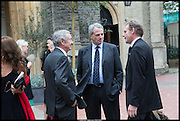 NICK MASON; CHARLES GLASS, Memorial service for Mark Shand.  . St. Paul's Knightsbridge. September 11 2014.