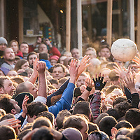 Royal Shrovetide Football - The Guardian