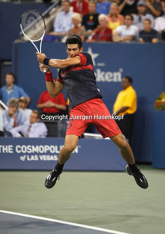 US Open 2010, USTA Billie Jean National Tennis.Center, NewYork,ITF Grand Slam Tennis Tournament . Novak Djokovic (SRB)