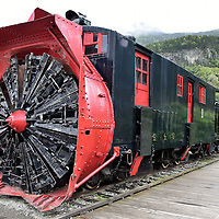 Rotary Snowplow #1 in Skagway, Alaska<br />