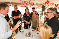 Naswa Resort celebrates 96th Motorcycle Week with Governor Sununu.  Karen Bobotas for the Laconia Daily Sun.