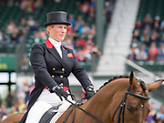 Zara Tindall (GBR) and High Kingdom during the Rolex Kentucky 3-Day Event at the Kentucky Horse Park in Lexington, Kentucky, April 28, 2017.