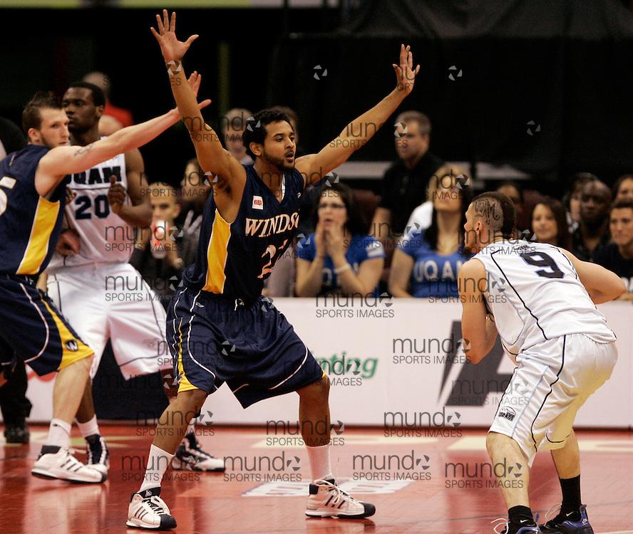 CIS Basketball Champioships-Ottawa, March 19, 2010, Windsor Lancers-RJ Wells