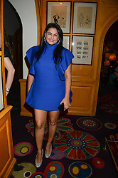 KIRAN SHARMA at a 1970's themed party as part of Annabel's 50th anniversary celebrations, held at Annabel's, Berkeley Square, London on 24th September 2013.
