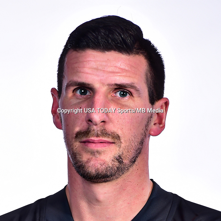 Feb 25, 2016; USA; Philadelphia Union player Sebastien Le Toux poses for a photo. Mandatory Credit: USA TODAY Sports