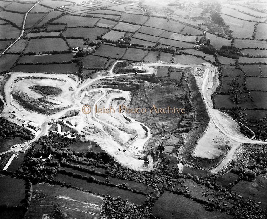 Aerial views of Silvermines, Co Tipperary<br />