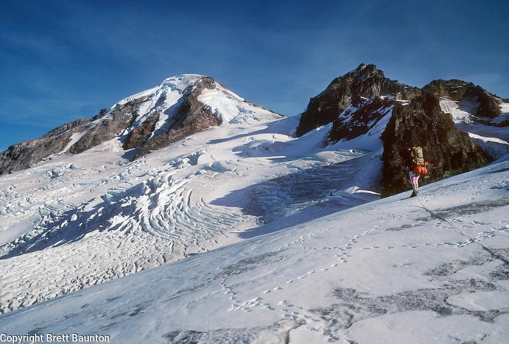 Mt. Baker, Coleman Glacier, Climbing