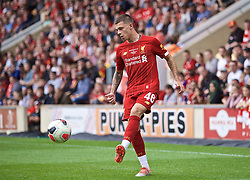 BRADFORD, ENGLAND - Saturday, July 13, 2019: Liverpool's Adam Lewis during a pre-season friendly match between Bradford City AFC and Liverpool FC at Valley Parade. (Pic by David Rawcliffe/Propaganda)