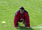 03/03/2004 Six Nations Rugby England Training- ENG v IRL. Pennyhill Park- Bagshot.Matt Stevens...   [Mandatory Credit, Peter Spurier/ Intersport Images].