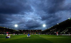 A general view of Franklin's Gardens, home of Northampton Saints - Mandatory by-line: Robbie Stephenson/JMP - 15/09/2017 - RUGBY - Franklin's Gardens - Northampton, England - Northampton Saints v Bath Rugby - Aviva Premiership