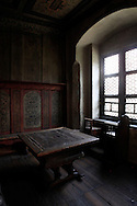The table that  Martin Luther  worked at <br /> in the home of Martin Luther<br /> Photo by Dennis Brack