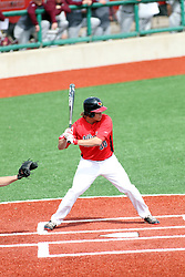 06 April 2013:  Batter Kyle Stanton during an NCAA division 1 Missouri Valley Conference (MVC) Baseball game between the Missouri State Bears and the Illinois State Redbirds in Duffy Bass Field, Normal IL