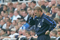 Photo: Andrew Unwin.<br /> Newcastle United v Everton. The Barclays Premiership. 24/09/2006.<br /> Everton's manager, David Moyes.