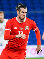 Football - 2019 / 2020 International Friendly - Wales vs. Belarus<br /> <br /> Gareth Bale of Wales, at Cardiff City Stadium.<br /> <br /> COLORSPORT/WINSTON BYNORTH