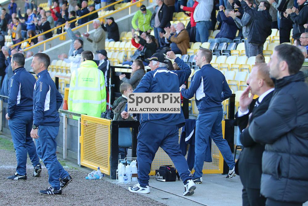East Fife v Dumbarton League Cup 1st august 2015 (c) Andy Scott | SportPix.org.uk