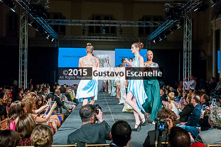NEW ORLEANS FASHION WEEK 2015: Designer Sophia Luchianni showcasing her design at the New Orleans Fashion Week at the New Orleans Board of Trade on Thursday March 26th, 2015. ©2015, Gustavo Escanelle, All Rights Reserved. ©2015, MOI MAGAZINE, All Rights Reserved.