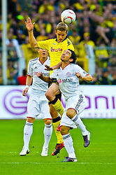 03.10.2010, Signal Iduna Park, Dortmund, GER, 1.FBL, Borussia Dortmund vs Bayern Muenchen im Bild Sven Bender ( Dortmund #22 ) Danijel Pranjic  (Bayern #23)    EXPA Pictures © 2010, PhotoCredit: EXPA/ nph/  Kokenge+++++ ATTENTION - OUT OF GER +++++
