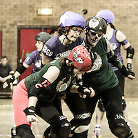 "2014-01-25: Manchester Roller Derby ""Furies"" vs. Rainy City Roller Girls ""Bet Lynch Mob"""