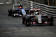 May 20-24, 2015: Monaco F1: Romain Grosjean (FRA), Lotus