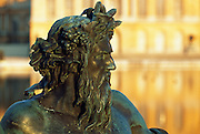 France, statue at the Palace of Versailles