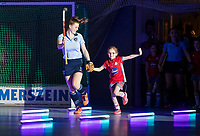 HAMBURG  (Ger) - Match 20,  for FINAL, LMHC Laren - Dinamo Elektrostal (Rus) (3-1).  Photo: European Champion , LMHC Laren.  Pam van Asperen (Laren)    Eurohockey Indoor Club Cup 2019 Women . WORLDSPORTPICS COPYRIGHT  KOEN SUYK