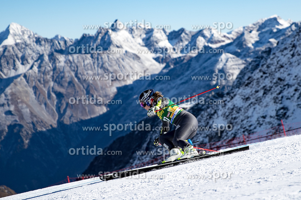 22.10.2016, Rettenbachferner, Soelden, AUT, FIS Weltcup Ski Alpin, Soelden, Riesenslalom, Damen, 1. Durchgang, im Bild Anne-Sophie Barthet (FRA) // Anne-Sophie Barthet of France in action during 1st run of ladies Giant Slalom of the FIS Ski Alpine Worldcup opening at the Rettenbachferner in Soelden, Austria on 2016/10/22. EXPA Pictures © 2016, PhotoCredit: EXPA/ Johann Groder