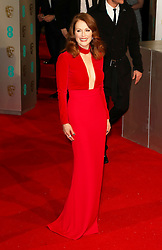 © London News Pictures. Julianne Moore, EE British Academy Film Awards (BAFTAs), Royal Opera House Covent Garden, London UK, 08 February 2015, Photo by Richard Goldschmidt /LNP