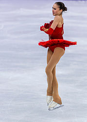 GANGNEUNG, SOUTH KOREA - FEBRUARY 23: Alina Zagitova of Olympic Athlete from Russia competes during the Figure Skating Ladies Free program on day fourteen of the PyeongChang 2018 Winter Olympic Games at Gangneung Ice Arena on February 23, 2018 in Gangneung, South Korea. Photo by Ronald Hoogendoorn / Sportida