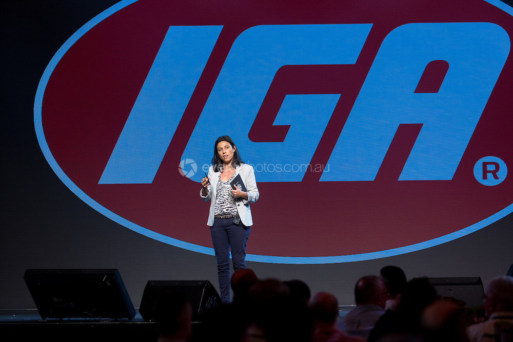 IGA Conference - July 18, 2016: Gold Coast Convention & Exhibition Centre, Gold Coast, Queensland, Australia. Credit: Pat Brunet / Event Photos Australia