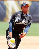 FIU Softball Team Vs. South Alabama in the third game of the series.  FIU prevailed with a 3-1 victory behind Ashley McClain and her pitching and batting performance.  Game was played at the FIU Softball Complex.  South Alabama are conferance rivals. Game was played on Sunday May 1, 2011 at Noon.