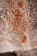 Serra da Capivara_PI, Brasil...Parque Nacional da Serra da Capivara em Sao Raimundo Nonato, Piaui. Na foto detalhe de pintura rupestre...Serra da Capivara National Park in Sao Raimundo Nonato, Piaui. In this photo ancient rock painting...Foto: ALEXANDRE BAXTER / NITRO