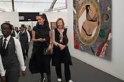JULIA PEYTON-JONES; Yasmin Ghandehari, Frieze 2016, Regent's Park. London,