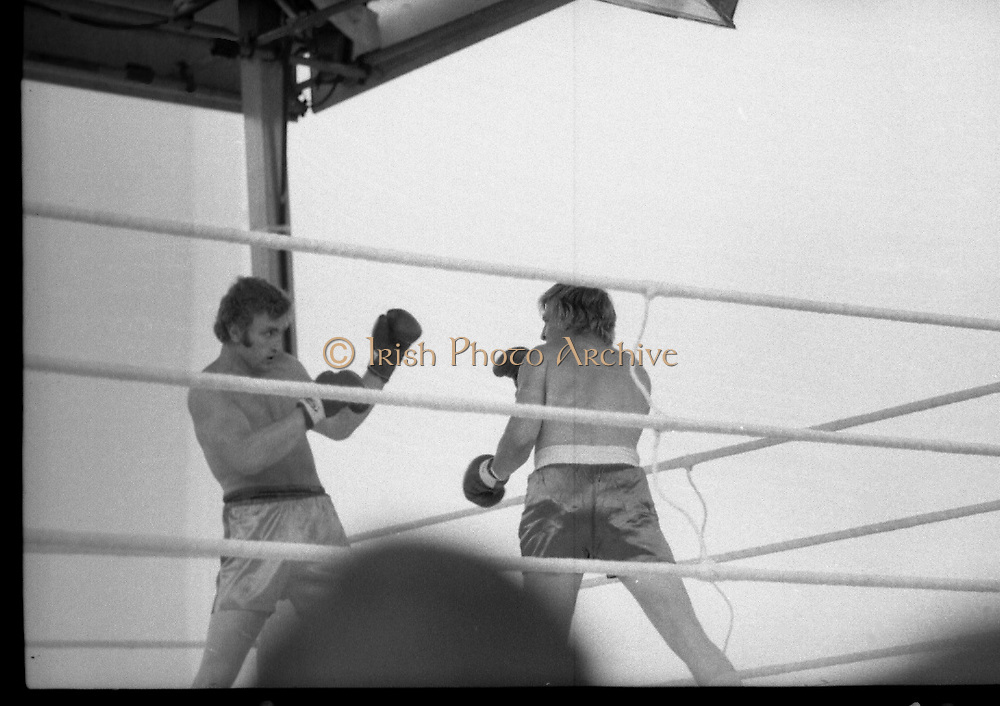 Ali vs Lewis Fight, Croke Park,Dublin.<br /> 1972.<br /> 19.07.1972.<br /> 07.19.1972.<br /> 19th July 1972.<br /> As part of his built up for a World Championship attempt against the current champion, 'Smokin' Joe Frazier,Muhammad Ali fought Al 'Blue' Lewis at Croke Park,Dublin,Ireland. Muhammad Ali won the fight with a TKO when the fight was stopped in the eleventh round.<br /> <br /> On the sub card Joe Bugner was matched against Paul Neilson.The fight was stopped in the sixth round as Neilson could not defend himself.