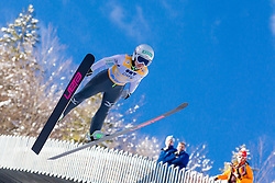 Sara Takanashi of Japan competes during 11th Women FIS Ski Jumping World Cup competition in Planica replacing Ljubno  on January 25, 2014 at HS95, Planica, Slovenia. Photo by Vid Ponikvar / Sportida