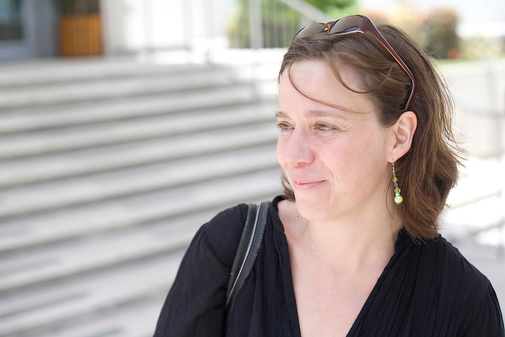 Emmanuelle Guerry at the Prime Minister's office for a meeting.